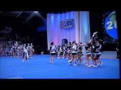 Cheer Extreme Senior Elite Worlds 2011 I really like the dance at the towards the end before they start the big stunt finale