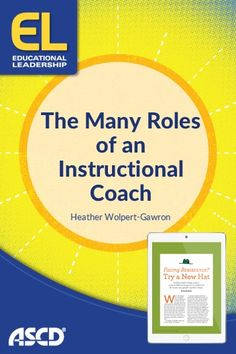 Instructional coaches can help fill in the gap between teachers and administrators. School Leadership, Leadership Coaching, Educational Leadership, Life Coaching, Coaching Quotes, Leadership Development, Instructional Coaching, Instructional Technology, Instructional Strategies