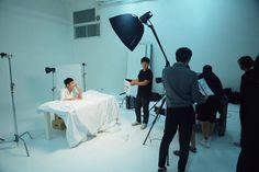 cool [18-09-2015] Kim Soo-hyun on the set of advertising BEYOND