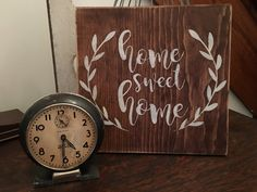 Home Sweet Home Wood Sign  Farmhouse Decor by TheRusticCountryHome