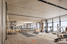 Concord King's Landing in Toronto, ON Gym Interior, Interior Design, Gym Architecture, Gym Center, Hotel Gym, Home Gym Design, Outdoor Gym, Gym Room, Toronto
