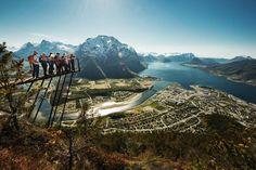 RampeStreken, Åndalsnes, Norway