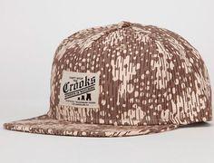 """CROOKS & CASTLES """"Castle Up"""" Snapback Cap"""