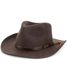 327838948 Bailey Of Hollywood Gelhorn Straw Hat With Leather Band, Natural ...