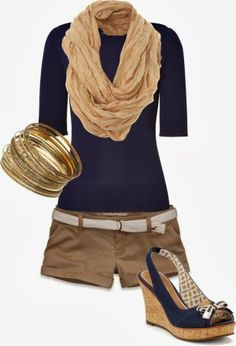 ..Something I'd wear in the Florida fall/winterI like this, but with the short just a little longer