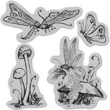 Once Upon A Springtime Cling Stamp Set 3