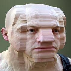 Estos escáneres 3D de rostros distorsionados son dignos de tus peores pesadillas | The Creators Project