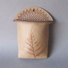 Clay Wall Pocket | Pottery/Ceramic Ideas I Borrowed ...