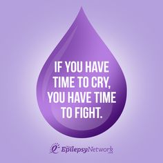 You have time to fight back against #epilepsy!