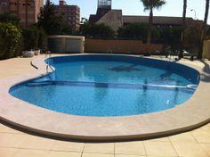 Piscina privada en Murcia, realizada por Sol y Agua 2M. Vea mas en www.solyagua2m.com