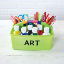Classroom Art Supply Table Caddy
