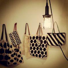 Just a few bags. #virkkuri #modern crochet #mollamillscrochetterie #crochet bag