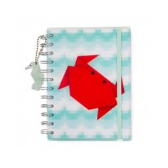 Aqua Marine A6 multi notebook (£5) ❤ liked on Polyvore featuring home, home decor and stationery