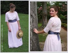 1914 Afternoon Dress Pattern-1914 afternoon dress, vintage, corset, pattern, patterns, pattern for, dress, modest wedding dress