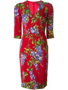 Dolce & Gabbana Vestido Estampado - Birba's - Farfetch.com