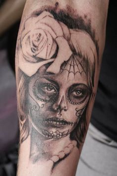 Catrina Tattoo By Kate http://www.vividinkbirmingham.co.uk/index.php/artists/kate