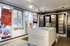 Hillarys showroom by Mynt Design, Bristol – UK » Retail Design Blog