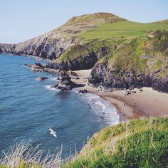 Hidden Welsh beaches. by jonnysimpson http://ift.tt/1Fa5jiq from Instagram!!