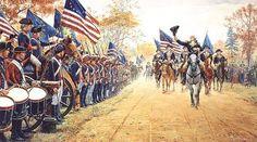 Washington at Carlisle by Mort Künstler