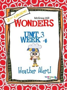 If you are already using or you are new to the Wonders Reading Program, this 55 page resource packet is for you. You'll have help with weekly lesson planning, printables for centers or word work activities, anchor charts, writing activities, high frequency word practice, an abundance of spelling activities, and much, much more.Check the table of contents below and our preview to see exactly what is included in the packet.