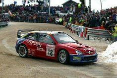 Citroen xsara Sebastian Loeb rally