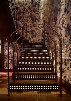 Duecento Otto Restaurant Staircase By Autoban Interior Design Decorating Restaurant Interior Design Restaurant