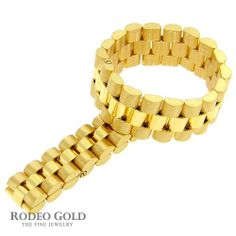 Cute Gold rolex style rings TH