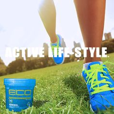 Eco Style Sport professional styling gel: long lasting moisturizers protects hair and preserve styles, perfect for active lifestyles.