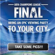 #Heineken is activating its #UEFA Champions League #sponsorship via a mobile & Facebook application that gives users a chance to win a viewing party for the final in their city.Users take a photo of themselves enjoying a match, upload it, tag their location and enter to win. Every upload scores a point for the user's city.  The app's leaderboard lists the top ten cities and vote counts. Users can submit photos until mid-April.   Another app feature shows users the closest Heineken retailer.