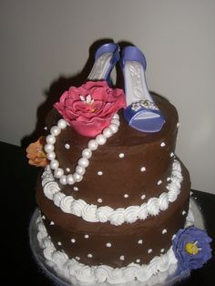 Bridal Shower Cakes Using High Heel Shoes
