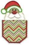 Christmas Pockets Applique