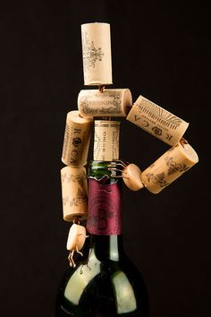 A Corked  Corkman by Corkmen on Etsy.   #wine cork