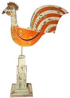 Wooden weathervane --from 1st Dibs