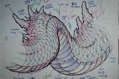 Drawing Animals Ideas Like a building needs a strong foundation, drawing a dragon requires understanding of the structure. After that you can develop your own style.dragon tutorial from the up coming - Manga Drawing, Drawing Sketches, Animal Drawings, Art Drawings, Drawing Animals, Dragon Sketch, Dragons, Poses References, Desenho Tattoo