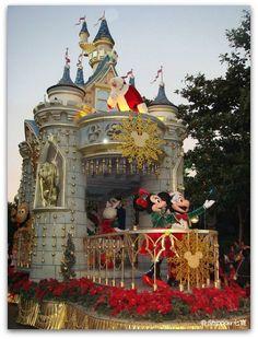 Hong Kong Disneyland at Christmas Time