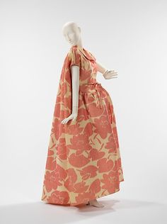 Evening dress House of Givenchy Designer: Hubert de Givenchy  Date: ca. 1963