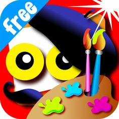 Wee Kids Draw&Color FREE #kids #app #colorful #education #children #kid #preschool #book #menu #ipad #iphone #android #iOS #colors #drawing #draw #color #masterpiece #paint #painting