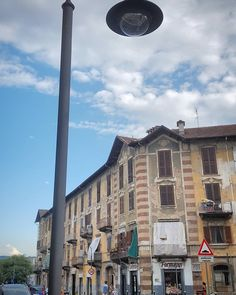 #Torino #Turin #BorgataTesso #seemycity #igerstorino #nofilter #blue #sky #clouds #ufo