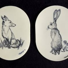 rabbit and fox tattoos?