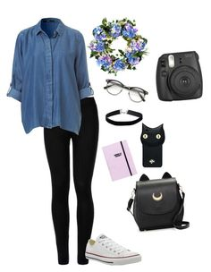 """diferente"" by valeriapatriciamosquera on Polyvore featuring Wolford, Converse, Forever 21, Valfré, Miss Selfridge and Improvements"