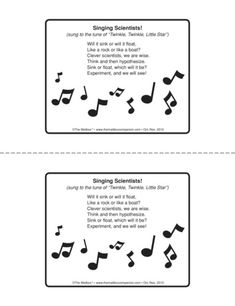 Singing Scientists, Lesson Plans - The Mailbox