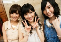 Miyazawa Sae, Watanabe Mayu, Matsui Jurina, #AKB48 #SKE48 #SNH48