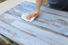 How to Create a Weathered Wood Gray Finish is part of Distressed furniture Gray - Easy tutorial on how to create a weathered wood gray finish Make new wood look like old weathered wood or refinish your furniture with this wood finish Weather Wood Diy, Dark Walnut Stain, Paint Furniture, Raw Furniture, How To Whitewash Furniture, How To Whitewash Wood, Whitewashing Furniture, Gray Wash Furniture, Refinished Furniture