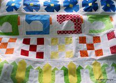 Grandma Town Quilt Block of the Month - Lori Miller Designs