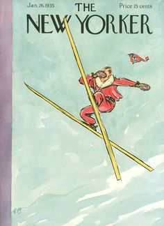 The New Yorker - Saturday, January 26, 1935 - Issue # 519 - Vol. 10 - N° 50 - Cover by : Perry Barlow