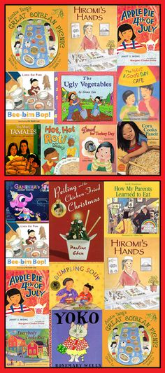 Top 10 multicultural books for children about food, selected by Grace Lin and Jama Rattigan