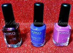 Be Fashion Be Glamour By Nushka: Últimas adquisiciones en Kiko y Manicura de Puntos...