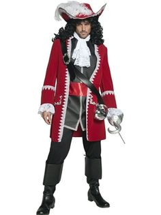 Pirate Captain Costume - Turn him into a dead pirate for #Halloween..!