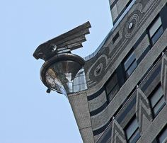 Winging it: the Chrysler Building, New York City