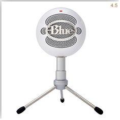 Blue Snowball iCE USB Microphone | Musical Instruments Best Microphone Blue iCE Microphone Snowball UK USB White